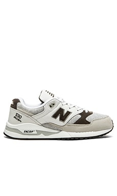 New Balance M530 in White Grey