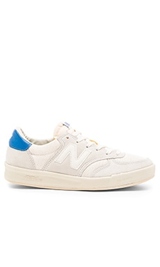 New Balance CRT300 in White Blue