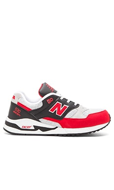 New Balance M530 in Red Black