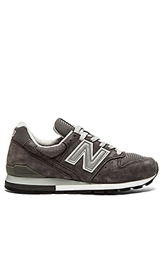 New Balance Made in USA M996 in Grey Silver