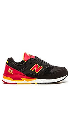 New Balance M530 in Black Red