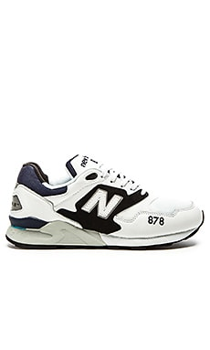 New Balance ML878 in Black White