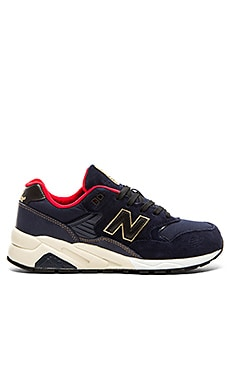 New Balance Limited Edition MRT580 Elite in Navy Red Gold