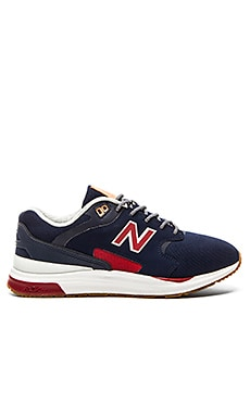 New Balance ML1550 in Navy Red