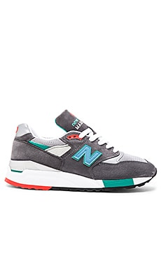 New Balance Made in USA M998 in Grey Green
