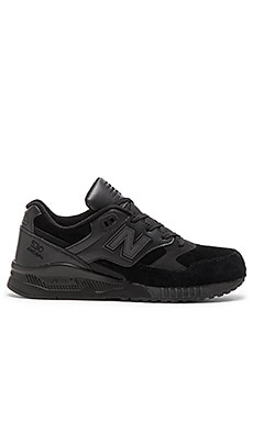 New Balance M530 in Black Leather