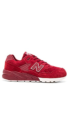 New Balance MRT580 in Brick Suede Mesh