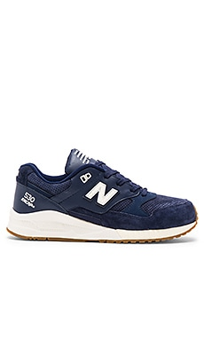 New Balance M530 in Navy Pig Suede