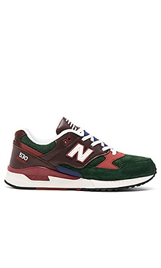New Balance M530 in Brown Green