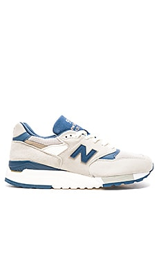 New Balance Made in USA M998 in Grey Navy