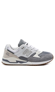New Balance M530 in Grey & White