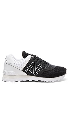 New Balance MTL574MB in Black & White