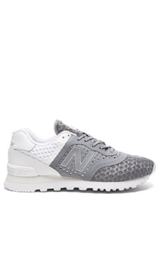 New Balance MTL574 in Grey & White