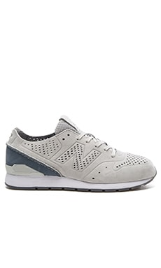 New Balance MRL696 in Concrete & Slate Blue