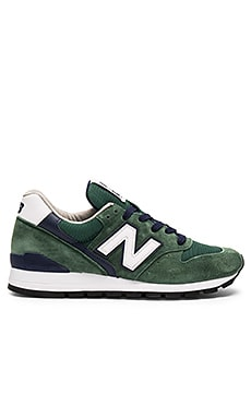 New Balance Made in USA M996 in Green & Navy