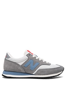 New Balance 620 Summit in Steel & Icarus