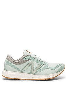 Fresh Foam Premium Performance Summer Utility Sneaker in Mint Cream