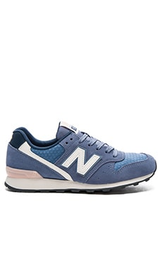 New Balance 696 Summer Utility Sneaker in Icarus & Shell Pink