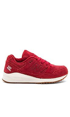 Lux Suede Sneaker in Envy