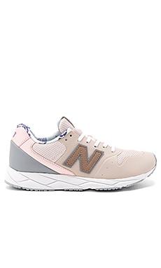 96 Sneaker in Pink Sandstone & Silver Mink