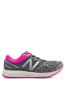 New Balance Fresh Foam Zante Sneaker in Grey & Pink