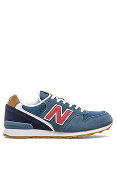 New Balance 696 Sneaker in Chambray