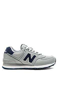 New Balance Pique Polo Sneaker in Silver Mink