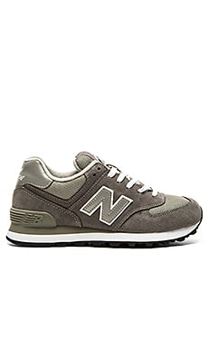 New Balance 574 Core Collection Sneaker in Grey