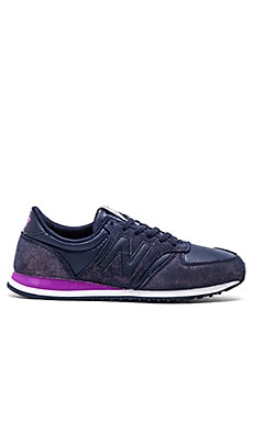 New Balance Capsule Glam Collection Sneaker in Dark Purple