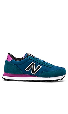 New Balance Classics Core Collection Sneaker in Blue & Purple