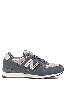 New Balance Capsule Collection Sneaker in Dark Grey & Silver