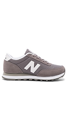 New Balance Classics Core Collection Sneaker in Grey & White