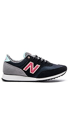 New Balance Capsule Street Beat Collection Sneaker in Black & Pink