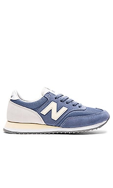 Athleisure x NB Sneaker in Blue