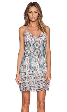 New Friends Colony Shift Dress in Medallion 2 Print