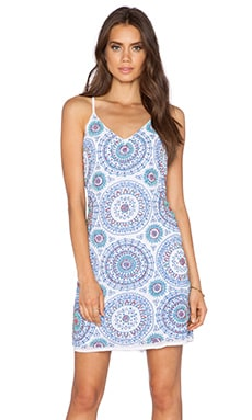 New Friends Colony Shift Dress in Medallion Print