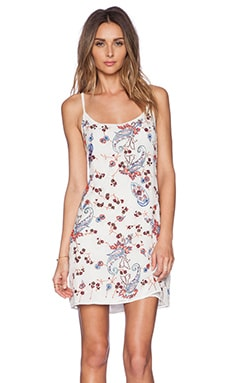 New Friends Colony Embellished Tank Dress in Ivory