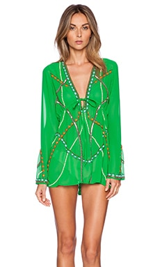 New Friends Colony Swim cover up in Green