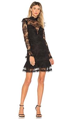 Купить Платье thalia - NICHOLAS, Длинные рукава, Китай, Черный
