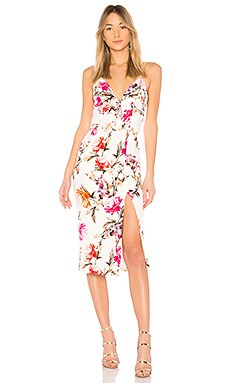 Lucile Floral Corset Bra Dress