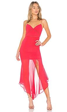 Купить Платье с завязкой georgette - NICHOLAS, Платья -комбинации, Китай, Фуксия