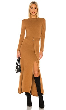 Mock Neck Long Sleeve Dress NICHOLAS $598