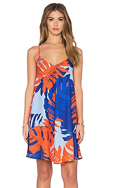 n / nicholas Diamond Dress in Palm Print