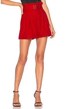 Red Suiting Short NICHOLAS $295