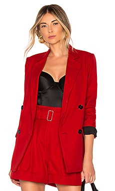 Red Suiting Blazer NICHOLAS $695