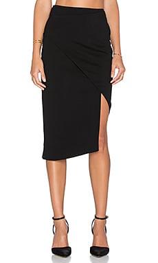 n / nicholas Ponti Spiral Skirt in Black