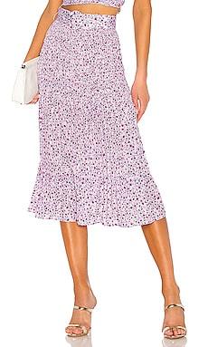 X REVOLVE Smocked Midi Skirt NICHOLAS $104