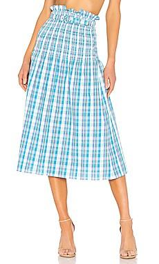 Smocked Skirt NICHOLAS $91