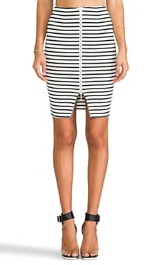 Breton Stripe Pencil Skirt