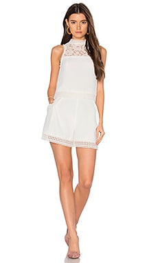 Crepe Double Layer Romper